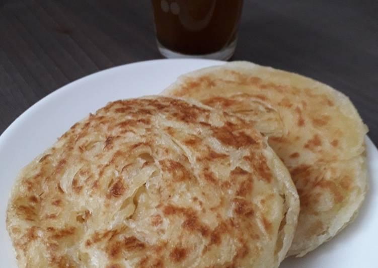 Recette Savoureux Meloui crêpe marocaine