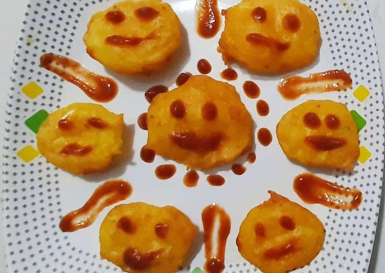 How to Make Speedy Potato chips emojis pakode bhajiya