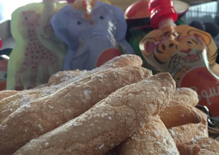 Comment Préparer Les Biscuits cuillères