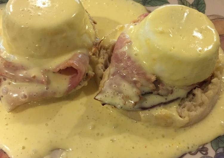 Simple Way to Prepare Speedy Easy Eggs Benedict