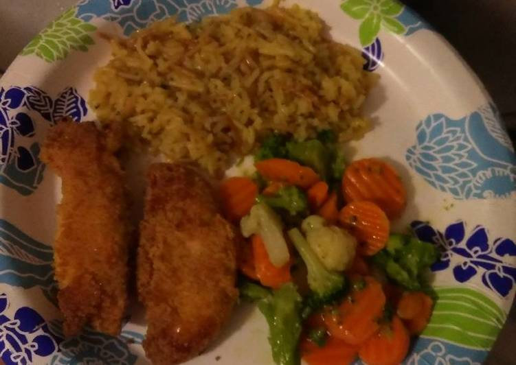 Easiest Way to Prepare Appetizing Yummy Breaded Baked Chicken