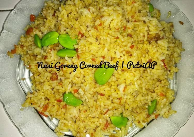 Nasi Goreng Corned Beef