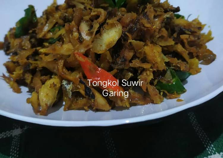 Tongkol Suwir Garing