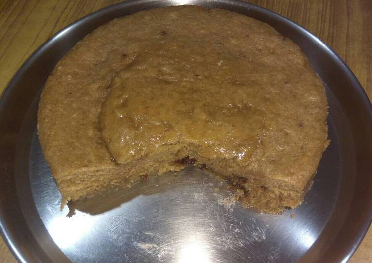 Banana and wheat cake