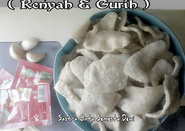 Kerupuk Nasi Home Made (Gurih & Renyah)