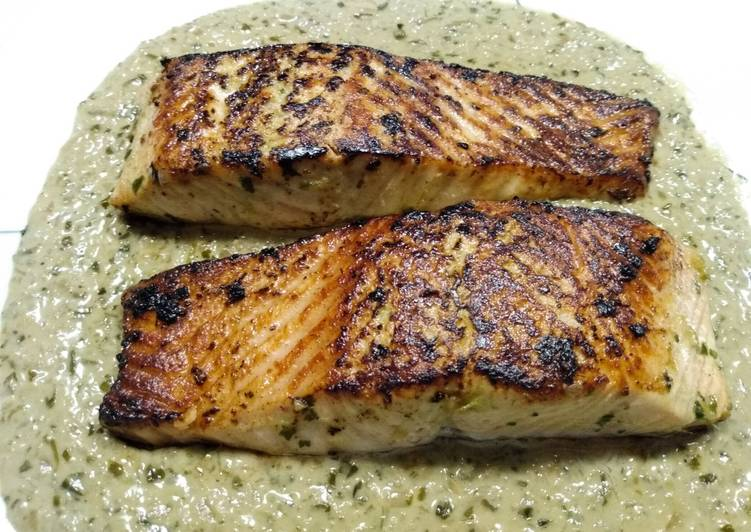Easiest Way to Cook Appetizing Chili Lime Coconut Salmon