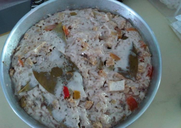 Kotokan tahu kukus #KANGENRUMAH#Cookpad_GA