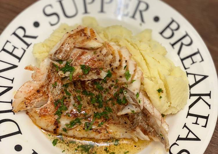 Consuming 14 Superfoods Is A Superb Way To Go Green And Be Healthy Haddock Fillet with Brown Butter Sauce
