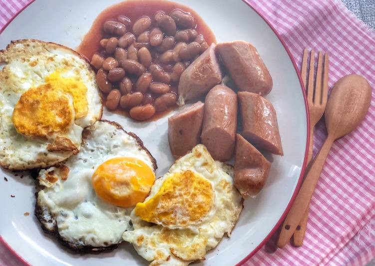 Resep English Breakfast ala Tiger Kitchen Top
