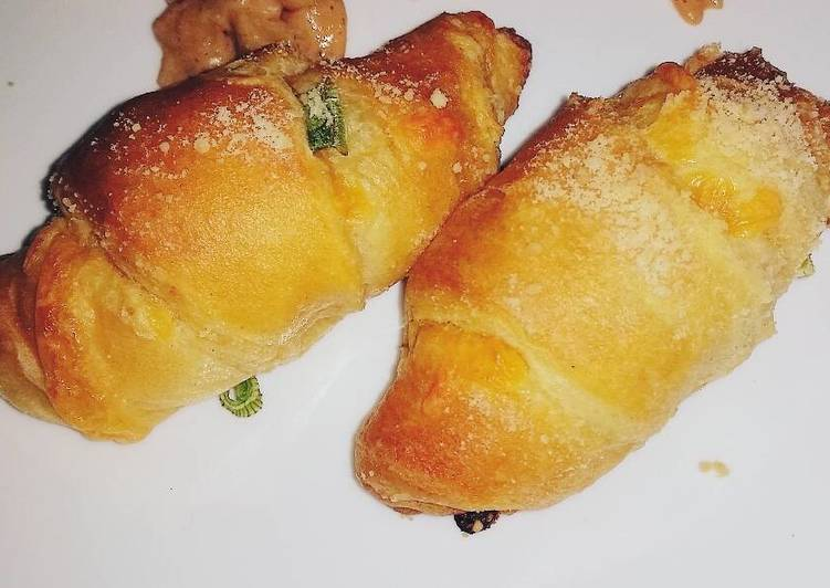Recipe of Ultimate Cheesy Dijon Crescent Rolls