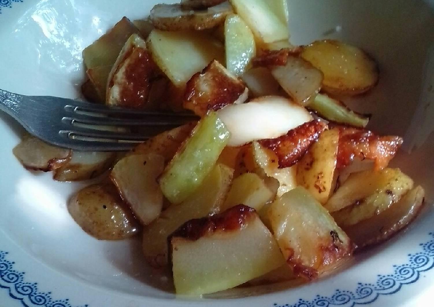 вареная картошка со шкварками рецепт с фото установило