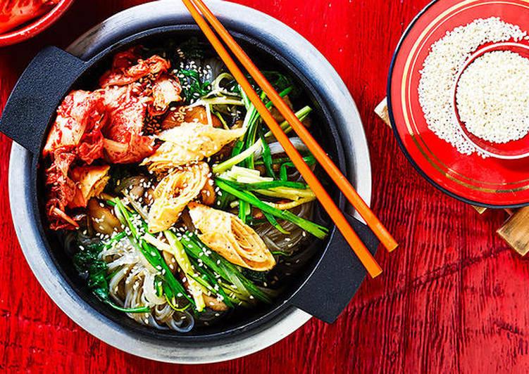 Recipe: Tasty Japchae