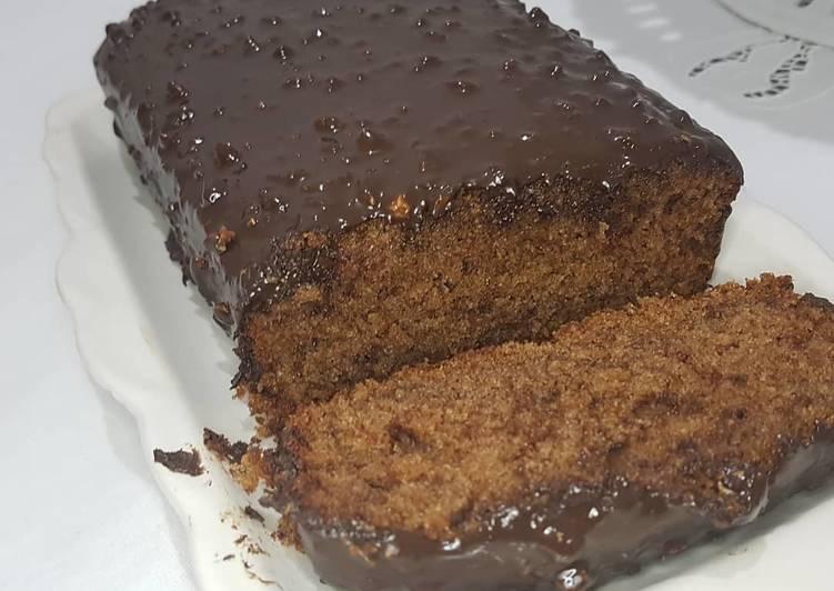Recette Savoureux Cake au glaçage gourmand