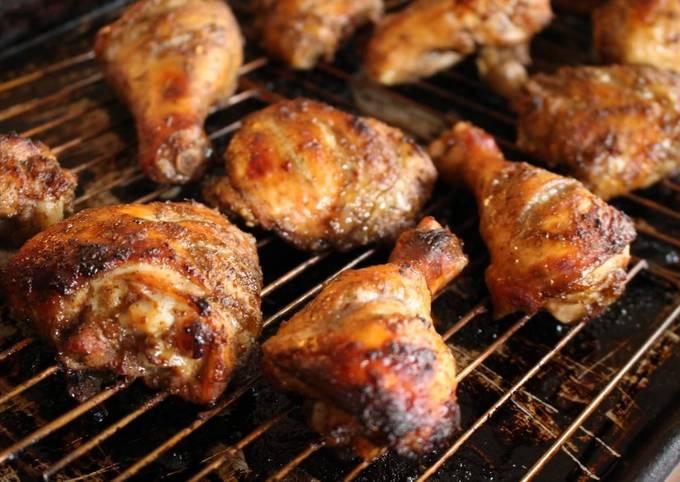 Oven-Roasted Tandoori-Inspired Jerk Chicken