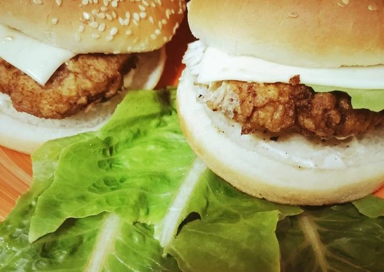 Simple Way to Prepare Perfect Kfc Zinger Burger
