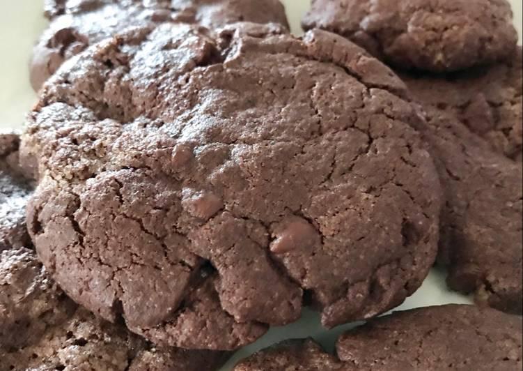 La Délicieuse Recette du Cookies tout chocolat