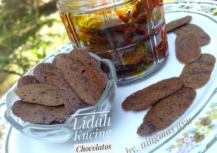 Resep Lidah Kucing Coklat (chocolatos) yang Sempurna