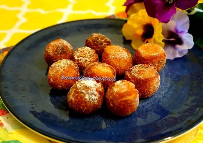 Korean mochi donuts