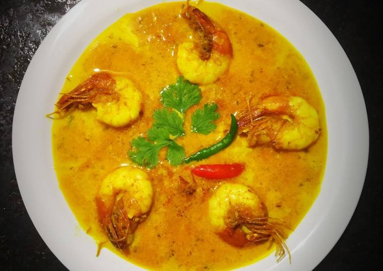 Malai Prawn Curry Choosing Fast Food That's Good For You
