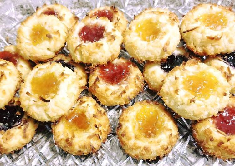 Suggestion to Prepare Inviting Coco Jam Cookie/Thumbprint Cookie