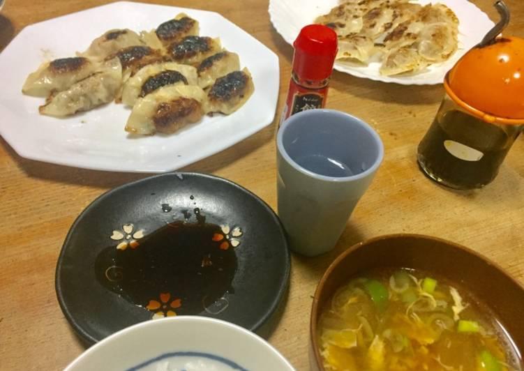 Recipe of Speedy Homemade gyoza