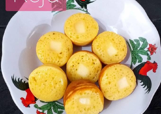 Resep 142. Kue Cubit (no mixer, takaran sendok), Enak Banget