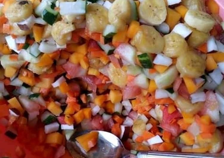 Steps to Make Speedy Fruit salad