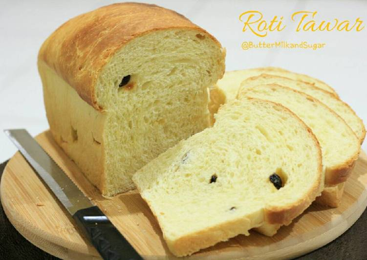 Milky White Bread a.k.a Roti Tawar 🍞
