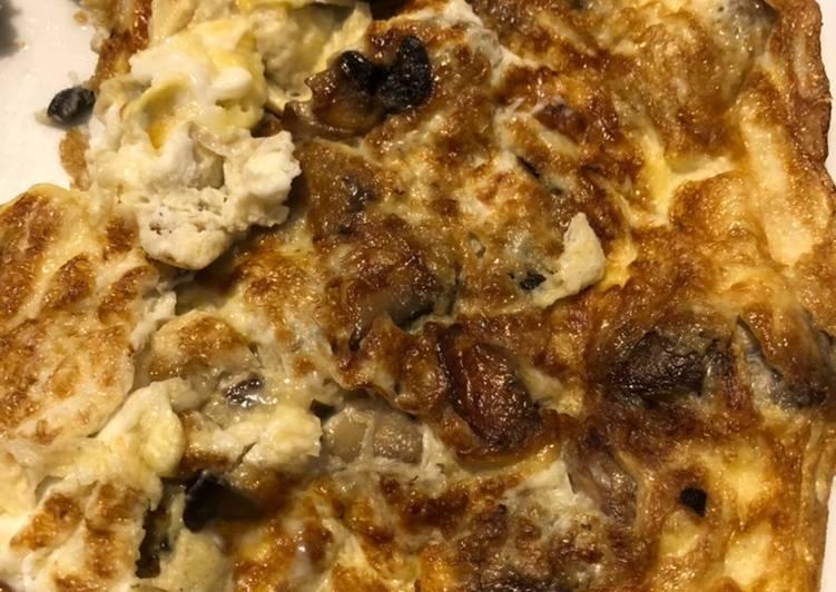 Classic Mushroom Omelette