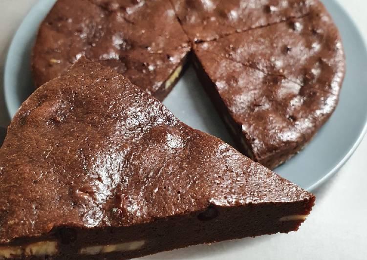 Recette Appétissante Gâteau chocolat banane