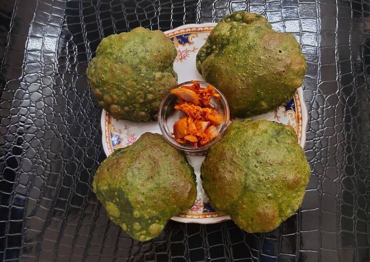 Simple Way to Prepare Award-winning Palak Puri
