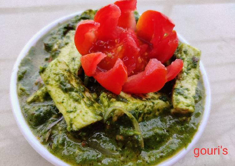 How to Prepare Perfect Palak paneer