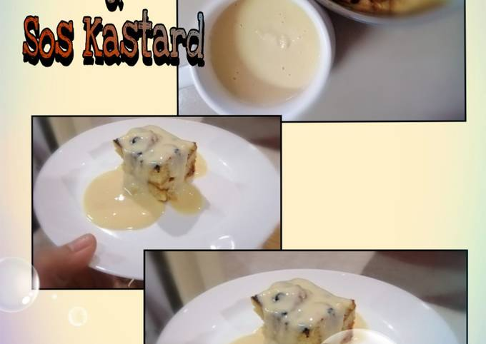 Puding Roti & Sos Kastard
