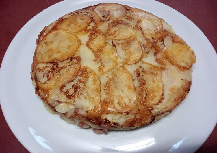 Gâteau de pommes de terre gratiné