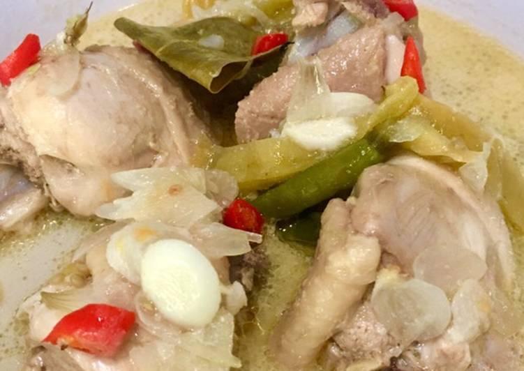 Garang Asem Ayam Extra Pedas