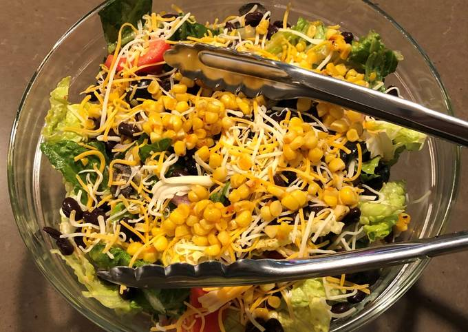 Step-by-Step Guide to Make Perfect Mexican Salad with Roasted Corn