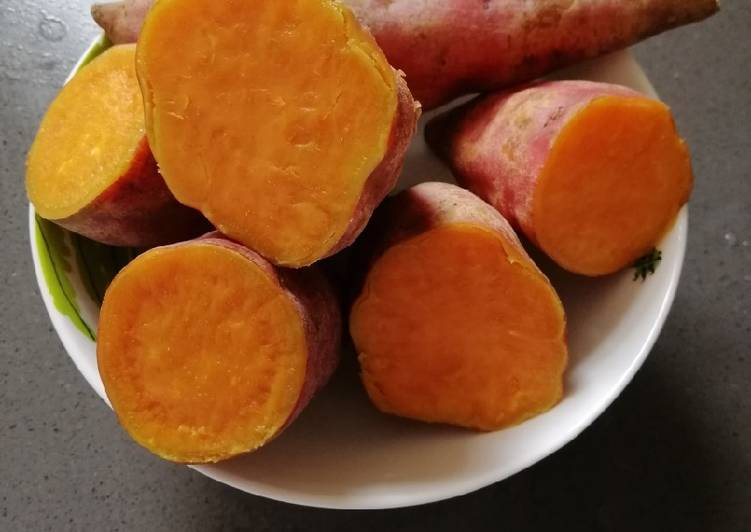 Recipe: Tasty Sweet Potato