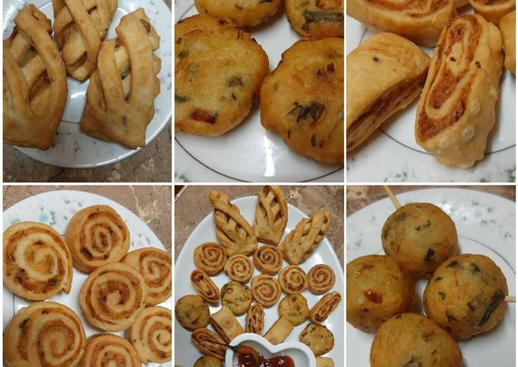 5 potato snacks with one recipe