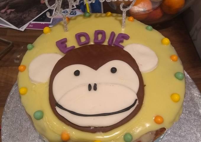 Eddie's 1st Birthday Cake