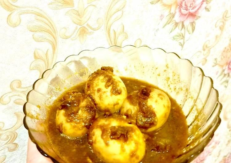 Resep Semur Telur ala Jawa (Terik Telur) Yang Mudah Endes