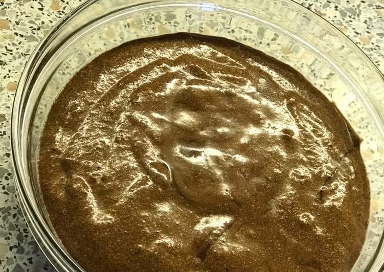 Recette  Mousse au chocolat 🍫