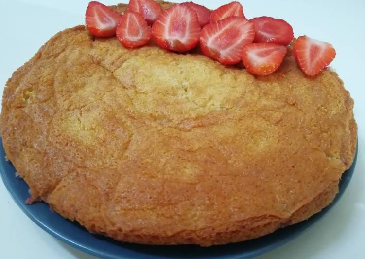 Comment faire Cuire Parfait Gâteau Moelleux Aux Fraises