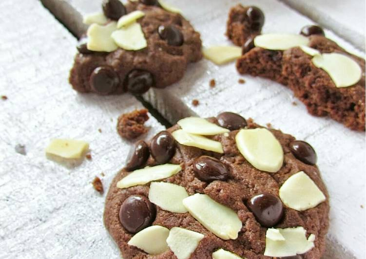 Almond Chocochips Cookies