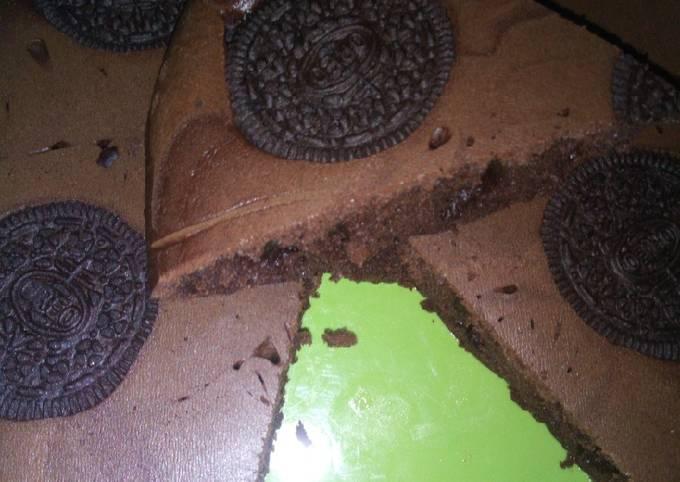 Resep Brownies Oreo (Teflon) yang Lezat Sekali