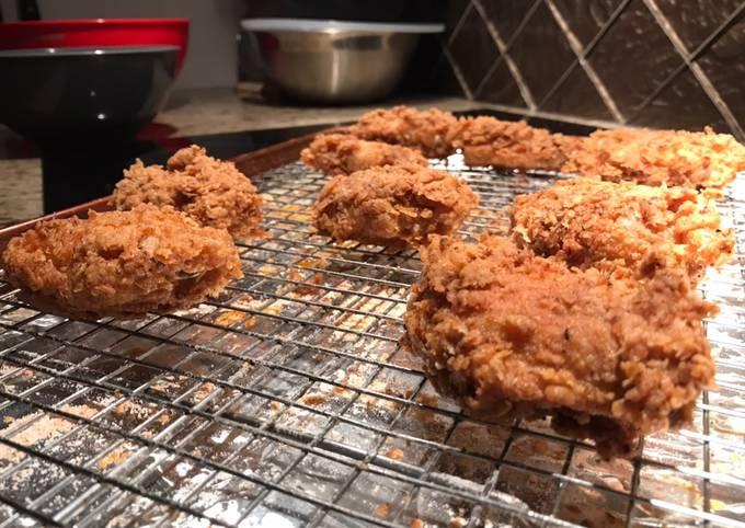 Kentucky fried chicken wings