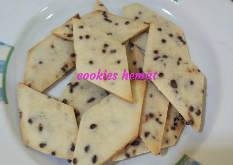 Resep Cookies hemat tanpa oven tanpa butter dan margarin Anti Gagal