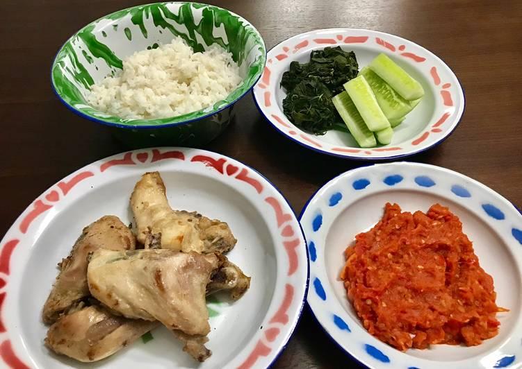 Resep •Ayam Pop dan Sambal• by Dapur Itha yang Lezat Sekali