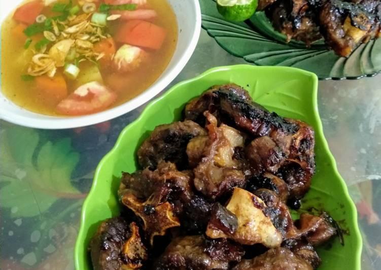 Sup Buntut Bakar Slow Cooker (Oxtail Soup)