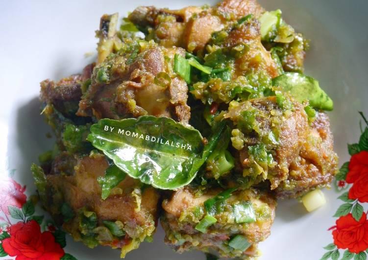 Ayam Goreng Sambal Ijo