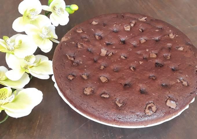 Gâteau au chocolat sans beurre et allégé en sucre